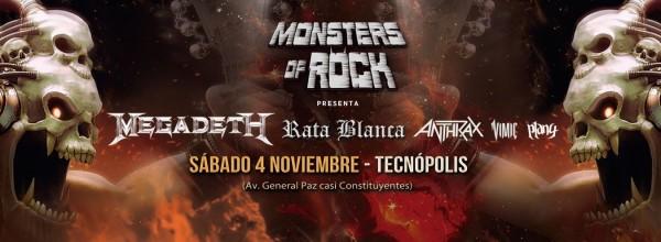 MONSTERS OF ROCK EN ARGENTINA