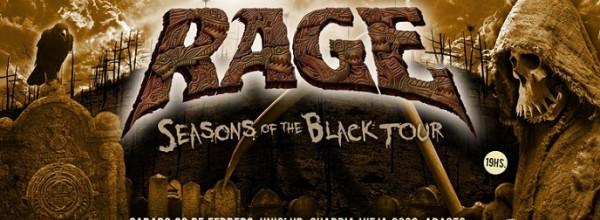 RAGE, la legendaria banda alemana se presentará en Argentina nuevamente después de varios años