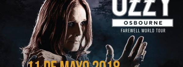 EN MAYO OZZY OSBOURNE SE DESPIDE DE ARGENTINA