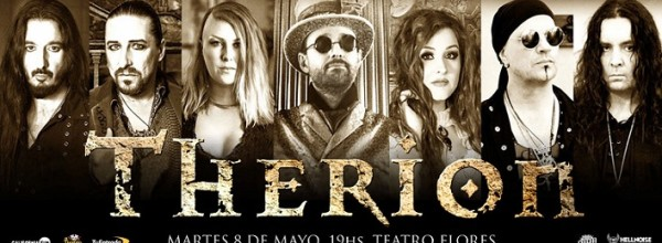 THERION REGRESA A LA ARGENTINA EN MAYO