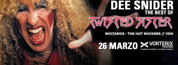 DEE SNIDER en vivo en Argentina