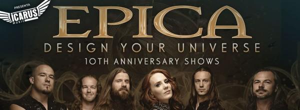 EPICA nuvamente en Bs As festejando aniversario de Design Your Universe